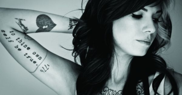 Christina Perri, singer/songwriter - Jar of Hearts