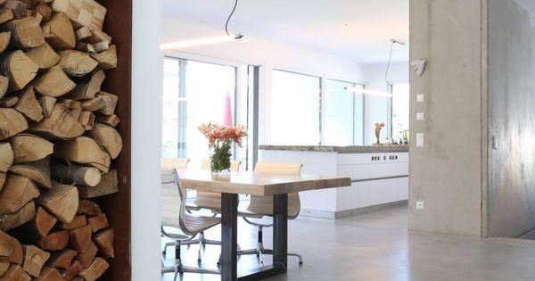 bauhaus villa in münchen - waldtrudering von 2p-raum® architekten, Wohnideen design