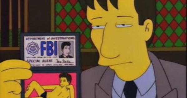 When The X Files Was On The Simpsons Too Funny Especially