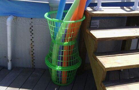 Love My 4 Noodle Storage Pool Toys Storage Pinterest