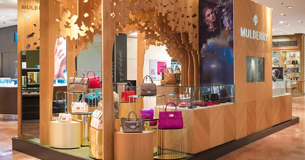 Mulberry Pop Up Galeries Lafayette 2013 By Millington