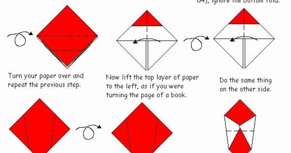 origami mario cap origami pinterest diy origami