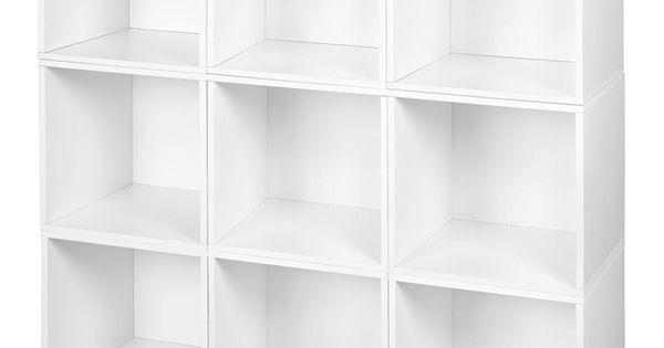 Regency Niche Cubo Nine Cube Storage Unit Cube Storage Unit Cube Storage Small Laundry Room Organization