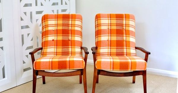 Retro Wool Blanket Chairs Morgan Armchairs Nz Chair Couch