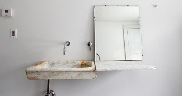 Vintage Marble Sink : ... Vintage Marble Sinks in the Bath Marbles, Marble Bathrooms and Sinks
