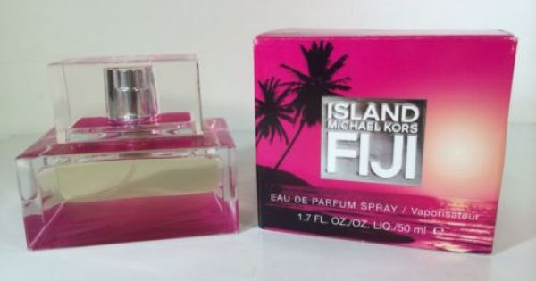 Island Fiji 1 7 Oz Edp Spray By Michael Kors For Women Hard To Find Nib Rare Michael Kors Perfume Perfume Eau De Parfum