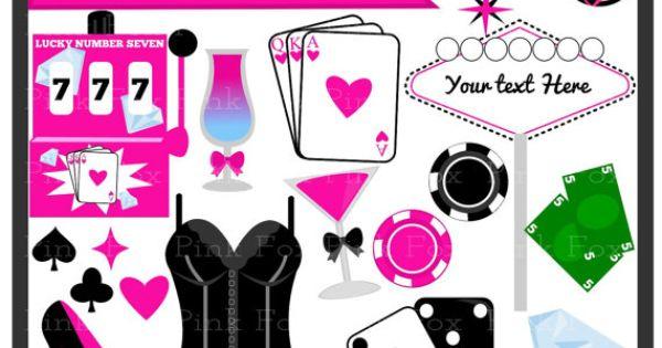 Bachelorette Clip Art Vegas Clip Art Commercial Use