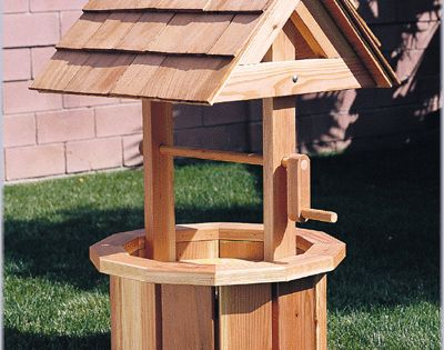 2x4 craft projects | ... Wishing Well (Plan No. 877 ...