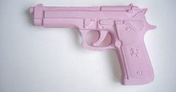 Customized Pink Gun