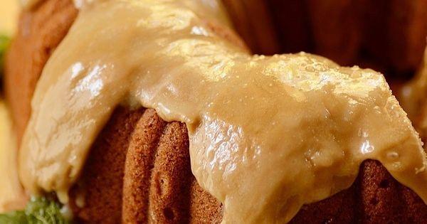 Spiced Sweet Potato Pound Cake with Caramel Frosting | Recipe | Sweet ...