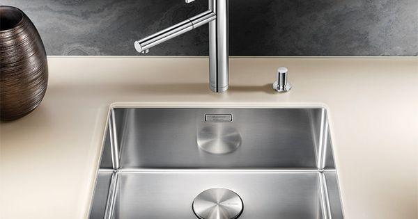 Blanco Sink Singapore : Blanco Claron Undermount Bowls : Claron 500U **Compassvale ...