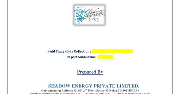 Electrical Safety Audit - Sample Report by Shadow Energy Private - private company audit report