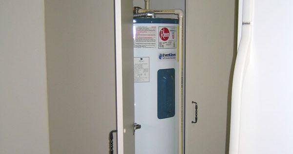 Cabinet To Hide Water Heater Nest Pinterest Hide