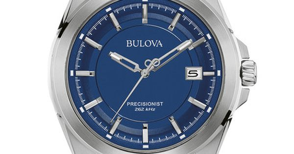 Bulova 96b257 Men S Precisionist Watch Mens Bulova