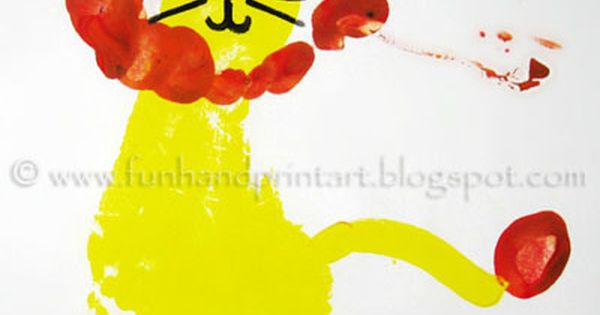 this site has so many great ideas for simple art using hand