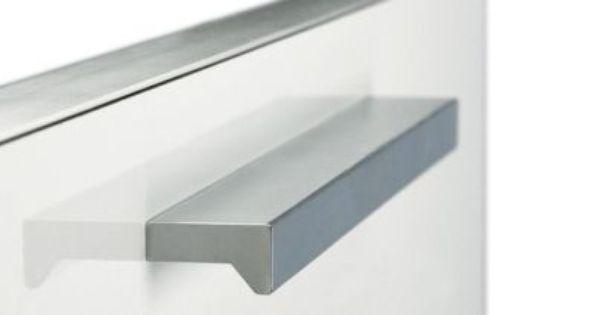 Cocinas tirador de aluminio para los muebles de cocina - Tiradores armarios cocina ...