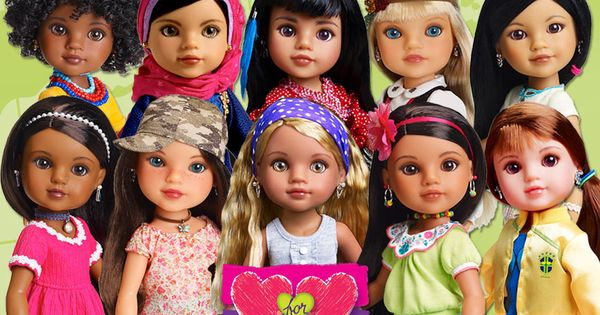 Hearts For Hearts Dolls Are Multicultural Have Fun And