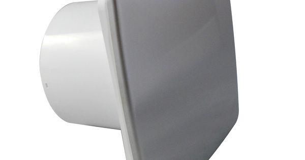 """Ventilador extractor para baño de 100mm/4"""" con sensor de ..."""
