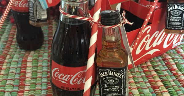jack daniel 39 s and coke christmas gift under great for coworkers book club etc. Black Bedroom Furniture Sets. Home Design Ideas