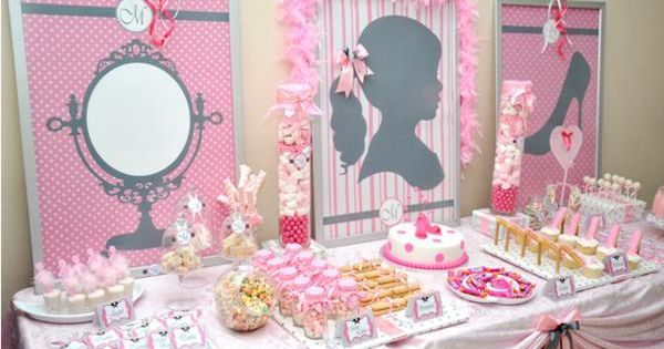 All things GIRLY Birthday Party via Kara's Party Ideas! www.KarasPartyIde... girly girl