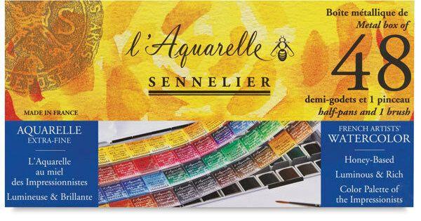 Sennelier L Aquarelle Professional Artists Watercolour Sets