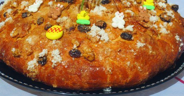 Pan dulce de pascua ana sevilla cocina tradicional - Machine cuisine thermomix ...