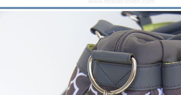 DIY Fabric Chapstick Holder....attach to purses, backpacks, keychains, etc. | via Make