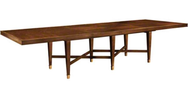 Baker Furniture Larchmont Dining Table 3680 1