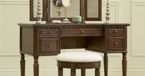 Pricing And More Info Powell Camelot Warm Cherry Bedroom Vanity Set