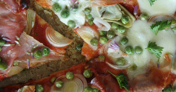 Artichoke, Leek, Prosciutto and Pea Pizza | Artichokes, Pizza and ...