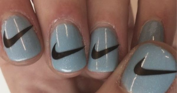 Nike nails nails nail nike pretty nails nail art nail ideas nail