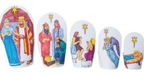 Nativity nesting dolls from guildcraft arts and crafts for Guildcraft arts and crafts