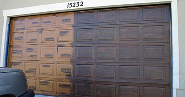 Diy faux wood garage door home decor pinterest for Fake wood garage doors