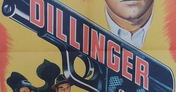 Dillinger Poster From Argentina Lawrence Tierney Lawrence
