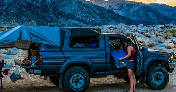 truck camping outfitting and living in the back of a. Black Bedroom Furniture Sets. Home Design Ideas