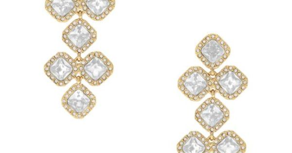 Can totally see these Kate Spade earrings sashaying down the aisle this