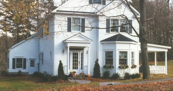 This Colonial Is Almost Perfect House Exterior Modular Homes House Styles