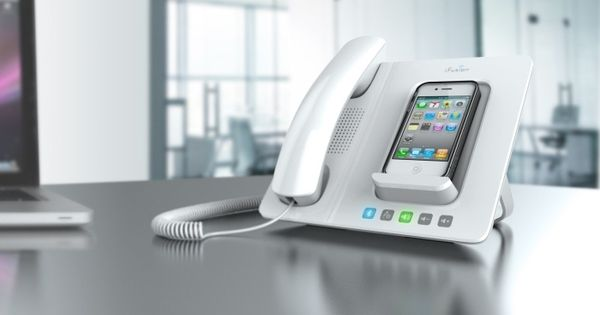 iFusion Smartstation for iPhone. This is the perfect solution for the office!!