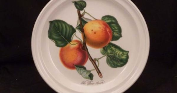 Portmeirion Pomona No Border Dinner Plate S Roman Apricot By Portmeirion 25 99 Brand New First Quality Dimensions Dining Plates Dinner Plates Home Kitchens