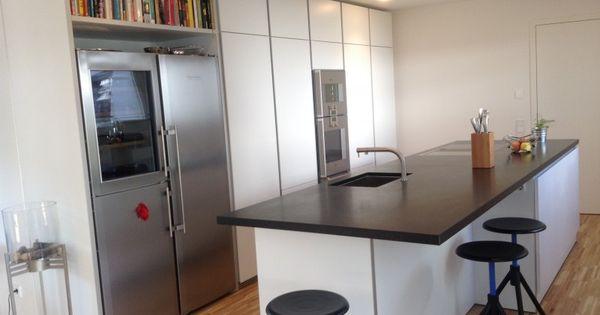 Bulthaup B1 mit Granitarbeitsplatte - Fertiggestellte Küchen - B1 - alno küchen grifflos