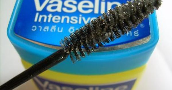 Beauty Secret: For a natural look, try using plain Vaseline on your