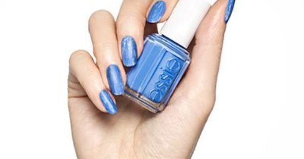 Distressed Denim By Essie Nails Nail Art Essie