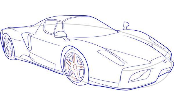 How To Draw A Ferrari Step 9 1 000000046529 5 Jpg 1389