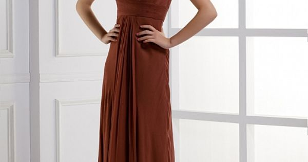 One Shoulder A-line fashionable lady dress Mother of the Bride possibility