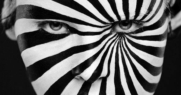 Weird Beauty: Stunning Black and White Face Art by Alexander ...