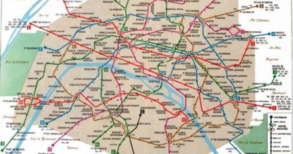 La Representation Cartographique Du Metro Avec Images Metro