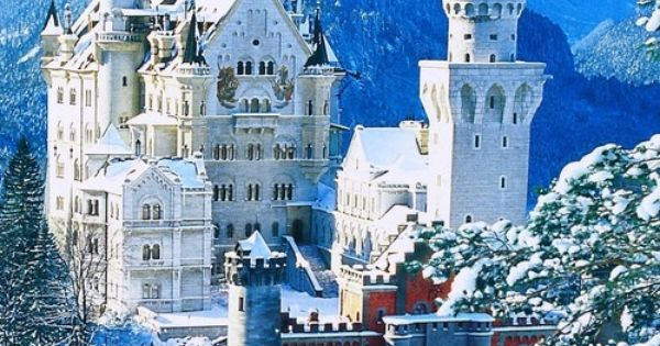 This is the real castle that Walt Disney patterned Disney's Cinderella's Castle