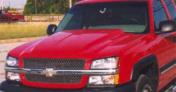 03 05 Chevy Silverado 03 04 Hd 03 06 Avalanche W O Cladding Custom Style Steel Cowl Induction Hood At Carolina Classic T Classic Trucks Chevy Silverado Chevy