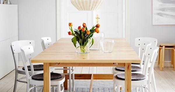 Witte stoelen, Ikea and Stoelen on Pinterest
