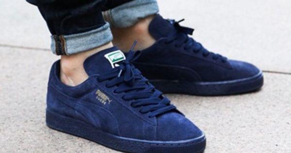 pretty nice ac871 e1998 puma suede dark blue